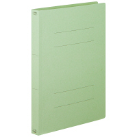 フラットファイル厚とじ 緑A4縦 30冊