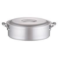 アルミ マイスター外輪鍋 42cm ガス火専用 ASTC142 北陸アルミニウム (取寄品)