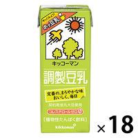 調製豆乳 200ml 18本