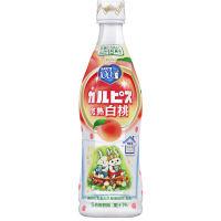 カルピス 「カルピス」完熟白桃 プラスチックボトル 470ml 1本