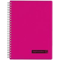 マルマン ツインリングノート セプトクルール A5 A罫7mm ピンク N572-08 3冊
