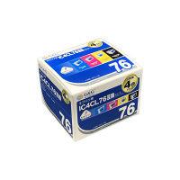 G&G 互換インク HBE-4CL76 1パック(大容量4色入)(エプソン IC4CL76互換)