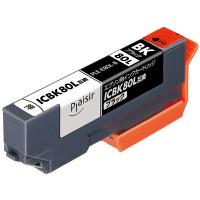 プレジール 互換インク PLE-E80L-B ブラック(大容量)(エプソン ICBK80L互換) IC80シリーズ