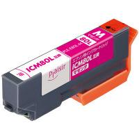 プレジール 互換インク PLE-E80L-M マゼンタ(大容量)(エプソン ICM80L互換) IC80シリーズ