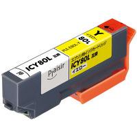 プレジール 互換インク PLE-E80L-Y イエロー(大容量)(エプソン ICY80L互換) IC80シリーズ