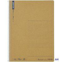 マルマン スパイラルノート 横罫40枚 A4 N235 1パック(5冊入)