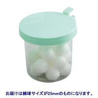 滅菌QCパール綿球J 25mm 1箱(25球入×10個) 34241