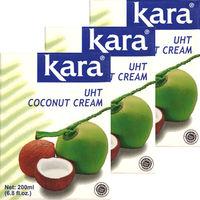 カラ  ココナッツクリーム UHT 3個
