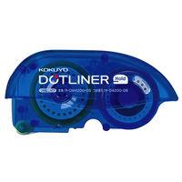 コクヨ <ドットライナーホールド>(つめ替え用テープ10個パック) しっかり貼るタイプ タ-D4200-08X10 1箱(10個)