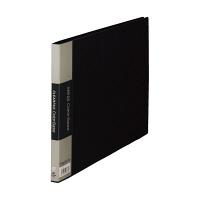 キングジム クリアーファイル 10P A4E 黒 130Cクロ (直送品)