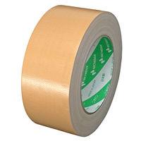 【ガムテープ】再生PET布粘着テープ No.150 0.31mm厚 50mm×25m 黄土 ニチバン 1巻