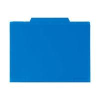 セキセイ 6インデックスフォルダA4 コバルトブルー ACT-906-14 (直送品)