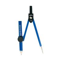 ソニック スーパーコンパス 紺 鉛筆用 EC-255-K (直送品)