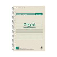 アピカ オフィシャルリングノート A4 FSWE104A (直送品)