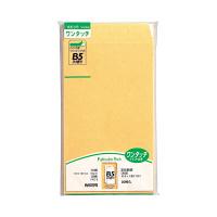 マルアイ ワンタッチ封筒 PKO-8 角8 22枚 クラフト 郵便番号枠なし 接着テープ付 (直送品)