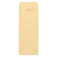 マルアイ 事務用封筒 PN-140 長40 100枚 クラフト 郵便番号枠あり 接着テープ無 (直送品)