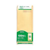マルアイ 事務用封筒 長4 100枚 PN-147 (直送品)
