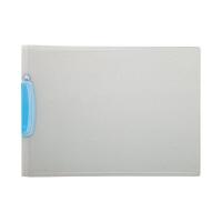ビュートン ウィングクリップファイル 青 WCF-A4E-CB (取寄品)