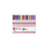 油性ペン マジックインキNo.500 細書き 12色セット 寺西化学工業 M500C-12(直送品)