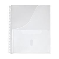 キングジム 取扱説明書ファイルポケット A4S 2630P (直送品)