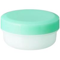 金鵄製作所 軟膏壺(定量型軟膏容器) 10mL ライトグリーン 1セット(250個:50個入×5袋)