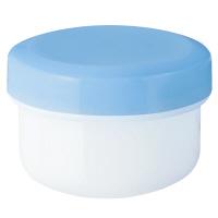 金鵄製作所 軟膏壺(定量型軟膏容器) 20mL スカイブルー 1セット(250個:50個入×5袋)