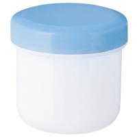 金鵄製作所 軟膏壺(定量型軟膏容器) 30mL スカイブルー 1セット(250個:50個入×5袋)