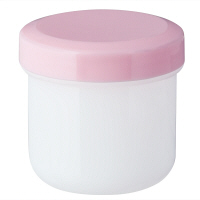 金鵄製作所 軟膏壺(定量型軟膏容器) 30mL ピンク 1セット(250個:50個入×5袋)