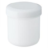 金鵄製作所 軟膏壺(定量型軟膏容器) 50mL ホワイト 1セット(150個:30個入×5袋)
