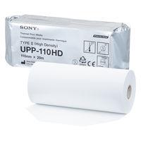 ソニー サーマルプリンタ用紙(モノクロ出力用/UPP-110HD) 1ロール