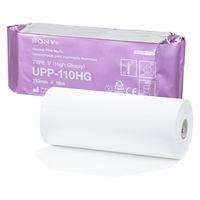 ソニー サーマルプリンタ用紙(モノクロ出力用/UPP-110HG) 1ロール