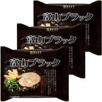 寿がきや 即席富山ブラックラーメン 1セット(3食入)