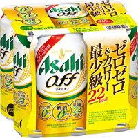 アサヒ アサヒオフ缶500ml×6缶