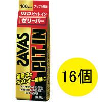 ザバス ピットインゼリーバー アップル風味 50g 1セット(16個入) 明治 栄養補助ゼリー
