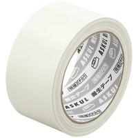 アスクル「現場のチカラ」 養生テープ 半透明 幅50mm×25m巻 1セット(5巻:1巻×5)