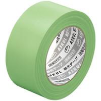 「現場のチカラ」 【養生テープ】 若葉色 幅50mm×50m アスクル 1セット(5巻:1巻×5)