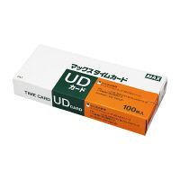 マックス タイムレコーダー用 タイムカード ER-UD(UDカード)