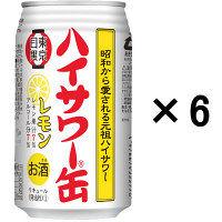 ハイサワー缶 レモン 350ml 6缶