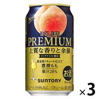 サントリー こくしぼり 豊潤もも 350ml 3缶