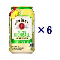 ジムビーム シトラスハイボール 6缶