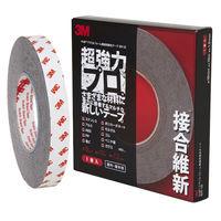 スリーエム ジャパン 3M 超強力両面テープ VHB アクリルフォーム構造用接合テープ 接合維新 幅19mm×長さ10m 1セット(3巻:1巻×3)