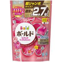 ボールド ジェルボール Wプラチナ プラチナブロッサム&ピオニーの香り 詰め替え 超特大(48個入) 洗濯洗剤 P&G