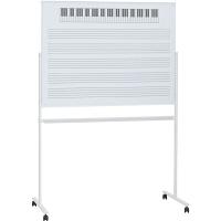 プラス アルミ枠ホワイトボード 五線譜 WBー1209DSJ5T 1台 (取寄品)
