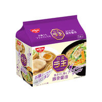 日清ラ王 豚骨醤油 5食