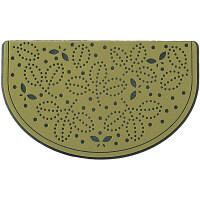 玄関マット プチリーフ グリーン 45×75cm 屋外用 (取寄品)