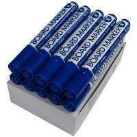 プラス ホワイトボード用マーカー ブルー 1セット(10本入) (取寄品)