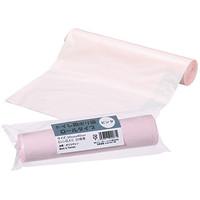 トイレ用ポリ袋ロールタイプ ピンク