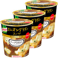 インスタント クノール スープDELI オニオングラタンスープ 1セット(3食入) 味の素