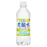 サンガリア 伊賀の天然水炭酸水グレープフルーツ 500ml 1箱(24本入)