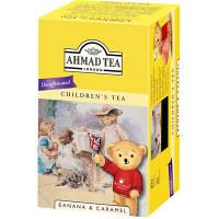 富永貿易 AHMAD デカフェ バナナキャラメル ティーバッグ 1箱(20バッグ入)
